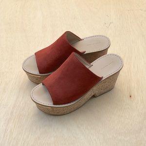 Zara Platform Mules 38/8